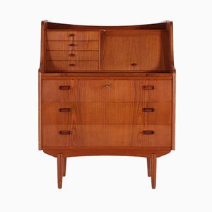 Scandinavian Secretaire with Pull-Out Desk, 1960s