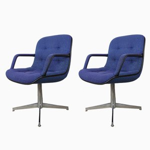 451 Armchairs by Randall Buck for Strafor, 1970s, Set of 2