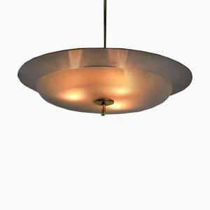 Lámpara colgante de Pietro Chiesa para Fontana Arte, años 40