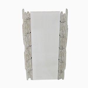 Beleuchteter Spiegel mit Rahmen aus Plexiglas, 1970er