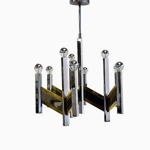 Vintage Deckenlampe von Gaetano Sciolari für Sciolari