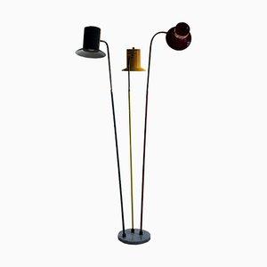 Mid-Century Stehlampe von Lumen Milano