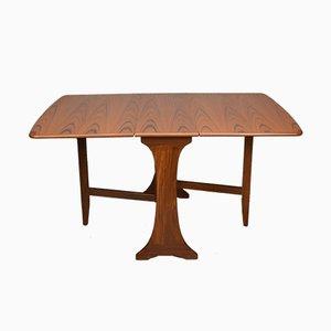 Tavolo da pranzo vintage pieghevole di G-Plan