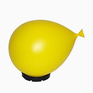 Lampe Ballon Jaune par Y. Christin pour Bilumen, 1980s