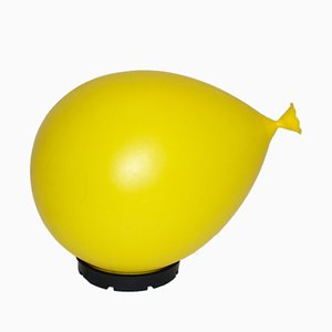 Yellow Balloon Lamp by Y. Christin for Bilumen, 1980s