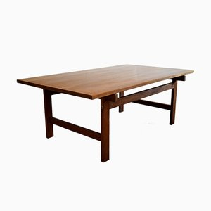 Table Basse Moderne Mid-Century par Hans J. Wegner pour Andreas Tuck, 1960s