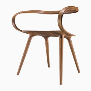 Chaise Velo 1 en Noyer par Jan Waterston