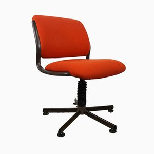 Vintage Swivel Office Chair from Roneo