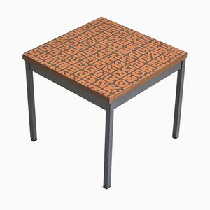 Tavolino da caffè Mid-Century in rame