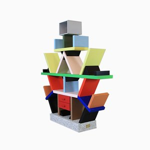 The Carlton Bookcase or Room Divider by Ettore Sottsass, 1980s