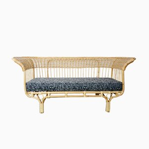 Belladona Sofa aus Rattan von Franco Albini, 1950er