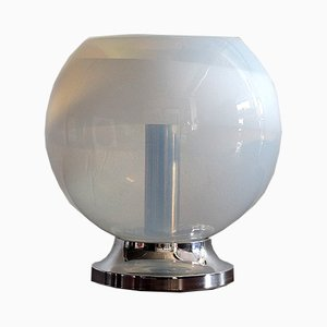 Vintage Hand-Blown Glass Table Lamp from Mazzega