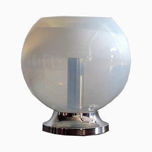 Vintage Tischlampe aus handgeblasenem Glas von Mazzega