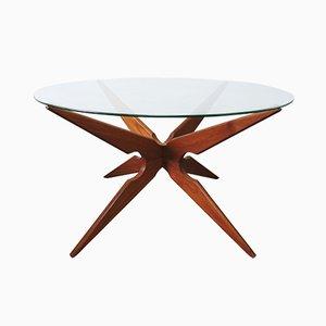 Vintage Teak Spider Leg Coffee Table from Sika Møbler
