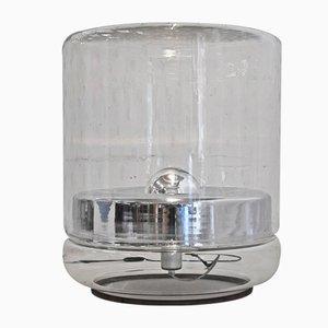 Lampada da terra grande vintage in vetro di Mazzega