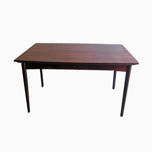Vintage Rosewood Extendable Dining Table from Skovby