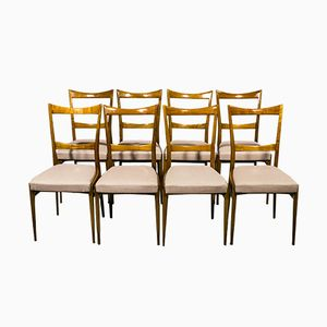 Vintage Cherry Chairs from Lucas Schnaidt, 1950s, Set of 8