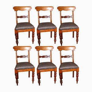 Antique Dining Chairs, Set of 6
