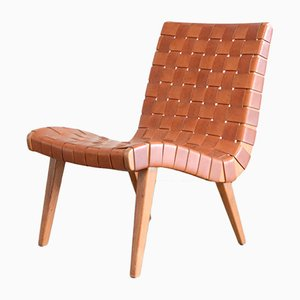 Mid-Century Model 654 Lounge Chair by Jens Risom for Walter Knoll