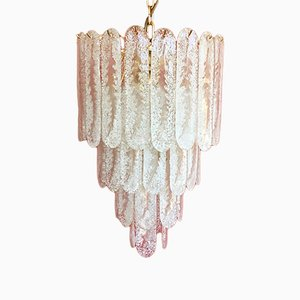 Italian Murano Glass Chandelier, 1970s