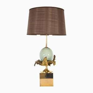 Fougere Oeuf Table Lamp by Chrystiane Charles for Maison Charles, 1970s