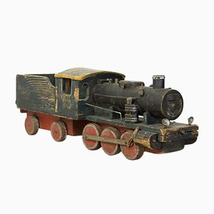 Vintage Wooden Toy Train, 1944