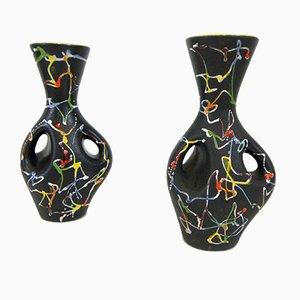 Vintage Italian Vases from Ce.As, 1950s, Set of 2
