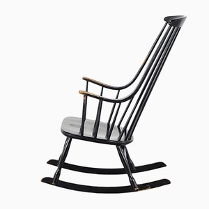 Bohem 2402 Rocking Chair by Lena Larsson for Nesto, 1960s