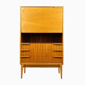 Mid-Century Secretary Desk by František Mezulaník for UP Bucovice, 1960s