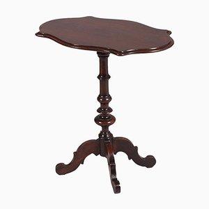 Tavolino da caffè antico in legno di noce massiccio, metà XVIII secolo