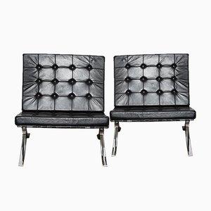 Vintage Barcelona Stühle von Ludwig Mies van der Rohe, 2er Set