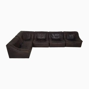 Vintage DS46 Modular Leather Sofa from de Sede, 1960s