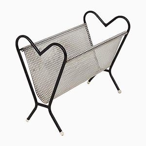Heart Shaped Magazine Stand from Pilastro, 1950s