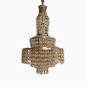 Small Chandelier by Jacques Emile Ruhlmann, 1920s