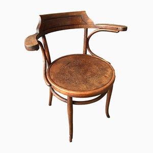 Vintage Armlehnstuhl aus Bugholz