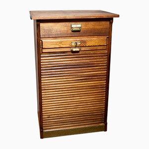 Mueble con cierre de persiana, años 30