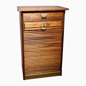 Roller Shutter Cabinet, 1930s