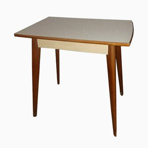 Wood & Formica Kitchen Table 500 from Müller, 1950s