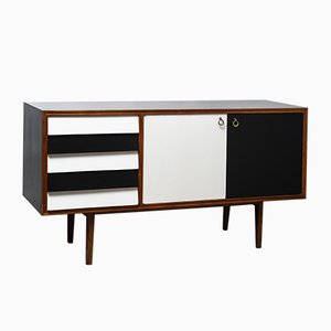Italian Lacquered Sideboard, 1950s