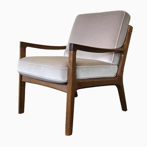 Vintage Senator Easy Chair by Ole Wanscher for France & Søn