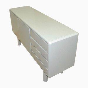 Weißes Mid-Century Sideboard, 1970er