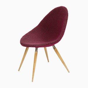 Violetter Mid-Century Stuhl von Miroslav Navratil für Vertex, 1960er