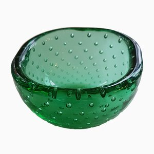 Vintage Glass Bowl by Carlo Scarpa for Venini, 1950s