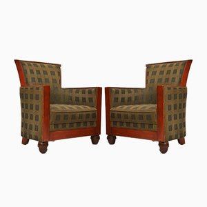 Vintage Armchairs from Rosello of Paris, 1960s, Set of 2