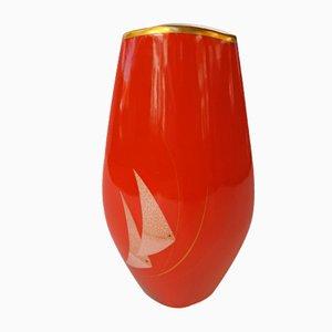 Vaso vintage in porcellana di PMR Bavaria Jaegerselb, anni '50