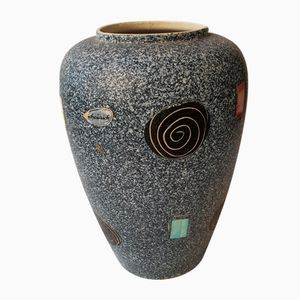 Vaso vintage in ceramica di Scheurich, anni '50