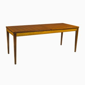 Table Basse Vintage en Noyer, 1960s