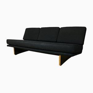 Schwarzes Mid-Century 671 Sofa von Kho Liang Ie für Artifort