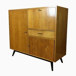 Mid-Century Birch Cabinet, 1950s