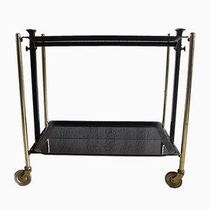 Chariot Bar Pliable Mid-Century par Bremshey & Co.
